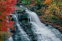 Brandywine Falls<br /> Brandywine Creek<br /> Cuyahoga Valley National Park<br /> Summit County,  Ohio