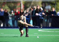 NZ's Blair Hopping during the international hockey match between the New Zealand Black Sticks and Malaysia at Fitzherbert Park, Palmerston North, New Zealand on Sunday, 9 August 2009. Photo: Dave Lintott / lintottphoto.co.nz