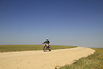Israel, dirt Bike in the Northern Negev