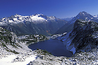 Hidden Lake, Hidden Lake Trail, North Cascades National Park, Cascade Mountains, Washington
