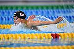 Sakiko Shimizu (JPN), <br /> AUGUST 19, 2018 - Swimming : Women's 100m Individual Medley Heat at Gelora Bung Karno Aquatic Center during the 2018 Jakarta Palembang Asian Games in Jakarta, Indonesia. <br /> (Photo by MATSUO.K/AFLO SPORT)