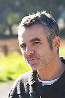 Christophe Bousquet Chateau Pech-Redon. La Clape. Languedoc. Owner winemaker. France. Europe.