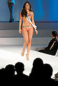 """Miss Brazil Deise Benicio, November 11, 2014, Tokyo, Japan : Miss Brazil Deise Benicio walks down the runway during """"The 54th Miss International Beauty Pageant 2014"""" on November 11, 2014 in Tokyo, Japan. The pageant brings women from more than 65 countries and regions to Japan to become new """"Beauty goodwill ambassadors"""" and also donates money to underprivileged children around the world thought their """"Mis International Fund"""". (Photo by Rodrigo Reyes Marin/AFLO)"""
