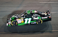 May 2, 2009; Richmond, VA, USA; NASCAR Sprint Cup Series driver Denny Hamlin during the Russ Friedman 400 at the Richmond International Raceway. Mandatory Credit: Mark J. Rebilas-