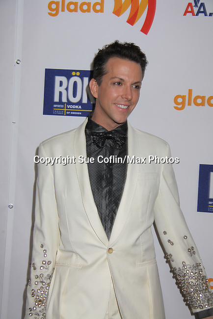 Stylist Derek Warburton at the 22nd Annual Glaad Media Awards honoring Ricky Martin (GH) & Russell Simmons on March 19, 2011 at the New York Marriott Marquis, New York City, New York. (Photo by Sue Coflin/Max Photos)