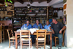 Spiti Poliou, with owner Giorgos Polioudakis, is a restaurant and museum in Asteri, Crete, Greece, Europe