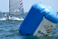 Finn / Nicholas HEINER (NED)<br /> ISAF Sailing World Cup Final - Melbourne<br /> St Kilda sailing precinct, Victoria<br /> Port Phillip Bay Tuesday 6 Dec 2016<br /> &copy; Sport the library / Jeff Crow