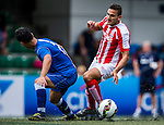 Stoke City vs HKFC Captain's Select during their Main Plate Quarter-Final match as part of day three of the HKFC Citibank Soccer Sevens 2015 on May 31, 2015 at the Hong Kong Football Club in Hong Kong, China. Photo by Xaume Olleros / Power Sport Images