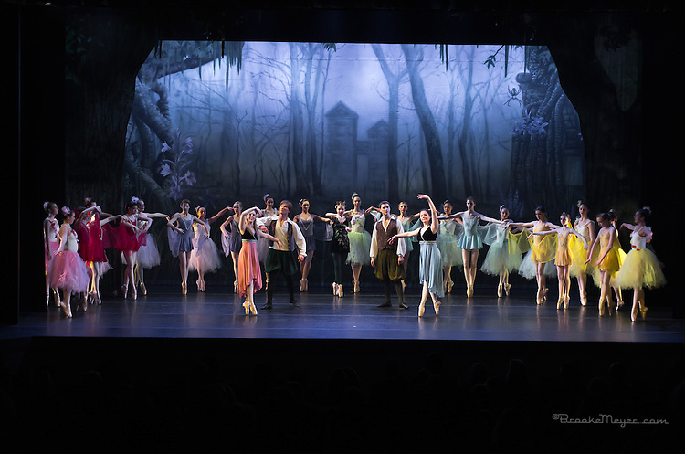 """Tales of An Athenian Forest"" Cary Ballet Company's 16th Annual Spring Gala, Friday 7 PM Performance, 15 March 2013, Cary Arts Center."