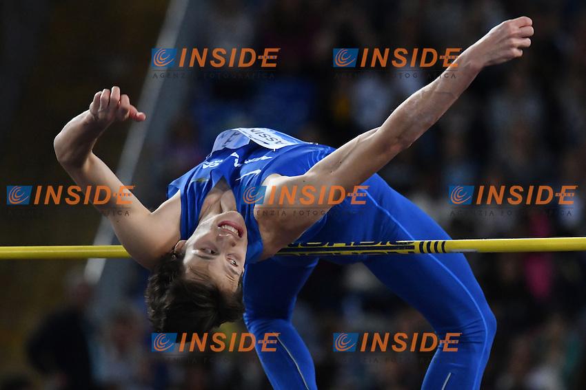 Marco FASSINOTTI ITA High Jump <br /> Roma 02-06-2016 Stadio Olimpico <br /> IAAF Diamond League Golden Gala <br /> Atletica Leggera<br /> Foto Andrea Staccioli / Insidefoto