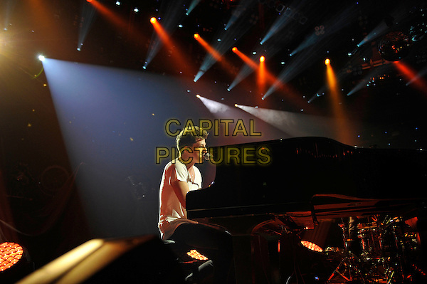 LONDON, ENGLAND - SEPTEMBER 20: Charlie Puth performing at Apple Music Festival, Camden Roundhouse on September 20, 2015 in London, England.<br /> CAP/MAR<br /> &copy; Martin Harris/Capital Pictures