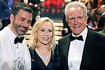 04.03.2018; Hollywood, USA: JIMMY KIMMEL, FAYE DUNAWAY AND WARREN BEATTY<br /> at the 90th Annual Academy Awards held at the Dolby&reg; Theatre in Hollywood.<br /> Mandatory Photo Credit: AMPAS/Newspix International<br /> <br /> IMMEDIATE CONFIRMATION OF USAGE REQUIRED:<br /> Newspix International, 31 Chinnery Hill, Bishop's Stortford, ENGLAND CM23 3PS<br /> Tel:+441279 324672  ; Fax: +441279656877<br /> Mobile:  07775681153<br /> e-mail: info@newspixinternational.co.uk<br /> Usage Implies Acceptance of Our Terms &amp; Conditions<br /> Please refer to usage terms. All Fees Payable To Newspix International