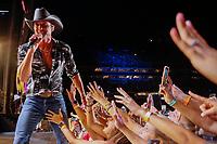 08 June 2019 - Nashville, Tennessee - Tim McGraw. 2019 CMA Music Fest Nightly Concert held at Nissan Stadium. Photo Credit: Frederick Breedon/AdMedia