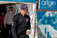 Fleetwood Town's manager Joey Barton pictured before the match <br /> <br /> Photographer Andrew Kearns/CameraSport<br /> <br /> The EFL Sky Bet League One - Wycombe Wanderers v Fleetwood Town - Saturday 4th May 2019 - Adams Park - Wycombe<br /> <br /> World Copyright © 2019 CameraSport. All rights reserved. 43 Linden Ave. Countesthorpe. Leicester. England. LE8 5PG - Tel: +44 (0) 116 277 4147 - admin@camerasport.com - www.camerasport.com