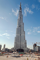 United Arab Emirates, Dubai: Construction of the Burj Dubai (tallest building in the world)