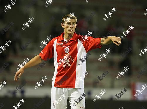 2009-08-29 / Voetbal / seizoen 2009-2010 / Antwerp FC - FC Brussels / Kevin Oris..Foto: Maarten Straetemans (SMB)