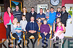 Seamus and Juliann Buckley Rathmore who celebrated their 40th wedding anniversary with their family in Kate Kearney's Cottage Killarney on Sunday front row l-r: Kathleen and Jason Culloty, Seamus, Juliann, Joan and Danielle Buckley. Back row: Sheila and Donie Buckley, Nora and Aaron Griffin, Brendan Buckley, Cathal Griffin, Shay Buckley, Jimmy Buckley, Dawn Griffin and Mike Griffin