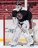 Ian Milosz (BC - 29) - The Boston College Eagles practiced at Fenway on Friday, January 6, 2017, in Boston, Massachusetts.