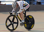 August 21, 2011:   Australia's World Champion Anna Meares on her way to winning the Women's Sprint Final at the Winslow BMW U.S. Grand Prix of Sprinting at the 7-Eleven Velodrome, Colorado Springs, CO... ...