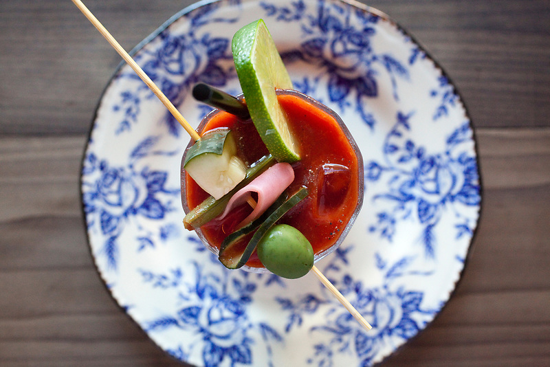 A Bloody Mary is served at Brunch at Oso Market.