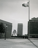1969 July 13..Historical...Downtown South (R-9)..Virginia National Bank from Civic Center Complex..Millard Arnold.NEG# MDA69-52-6.NRHA#..
