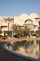 Swimming pool at Hotel in Carthage, Tunisia