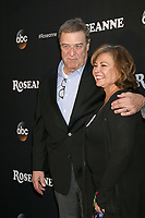 "LOS ANGELES - MAR 23:  John Goodman, Roseanne Barr at the ""Roseanne"" Premiere Event at Walt Disney Studios on March 23, 2018 in Burbank, CA"