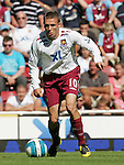 West Ham's Craig Bellamy in action. .Pic SPORTIMAGE/David Klein