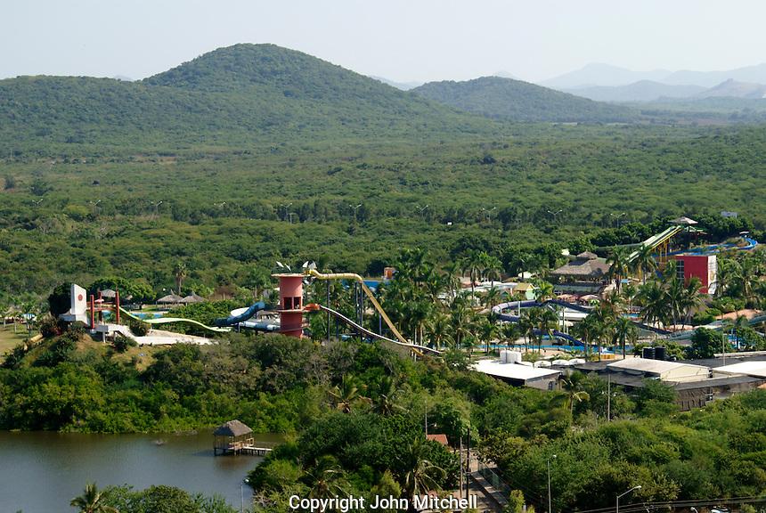 Mazagua Water Park or Aquatic Park  in Nuevo  Mazatlan, Sinaloa, Mexico