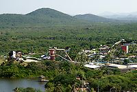 Mazagua Water Park or Aquatic Park  in Nuevo  Mazatlan, Sinaloa, Mexico