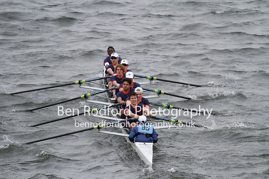 Crew: 98  Eton Coll  Event: School 3rd Eights<br /> <br /> Schools' Head of the River 2017<br /> <br /> To purchase this photo, or to see pricing information for Prints and Downloads, click the blue 'Add to Cart' button at the top-right of the page.