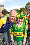 Dermot and Katie O'Keeffe Kilcummin at the Kerry homecoming in Rathmore on Monday
