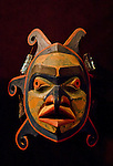 Victoria, British Columbia, Vancouver Island, Royal British Columbia Museum, First Nations, ceremonial masks, Indian wood carvings,