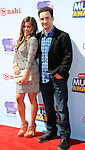 Danielle Fishel and Ben Savage arriving at the 'Radio Disney Music Awards 2014' held at Nokia Theatre L.A. Live Los Angeles, CA. April 26, 2014.