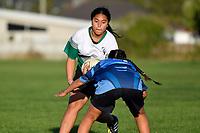College Girls Rugby - Naenae College v Taita College at Naenae College, Lower Hutt, New Zealand on Wednesday 9 May 2018.<br /> Photo by Masanori Udagawa. <br /> www.photowellington.photoshelter.com