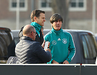 Teammanager der Nationalmannschaft Oliver Bierhoff (Deutschland Germany), Bundestrainer Joachim Loew (Deutschland Germany) - 25.03.2018: Training der Deutschen Nationalmannschaft, Olympiastadion Berlin