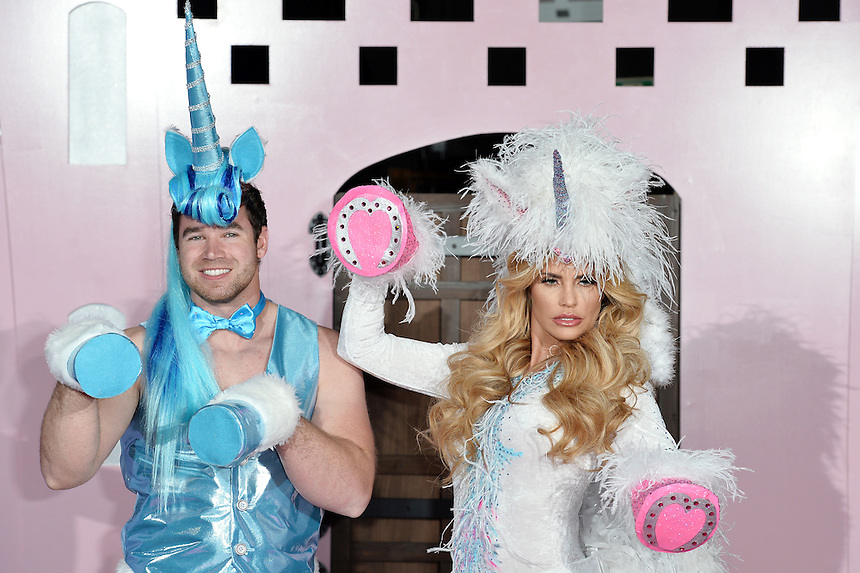 Kieran Hayler and Katie Price<br /> Katie Price's Pony Club - Press Launch