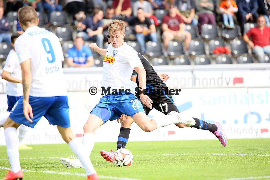 Simon Terodde (Bochum) zieht ab und erzielt das Tor zum 1:4 - FSV Frankfurt vs. VfL Bochum, Frankfurter Volksbank Stadion