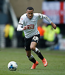 Marcus Olsson of Derby during the Skybet Championship match at the iPro Stadium. Photo credit should read: Philip Oldham/Sportimage