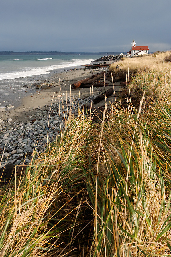 Point Wilson Lighthouse, Fort Worden State Park, Washington, USA