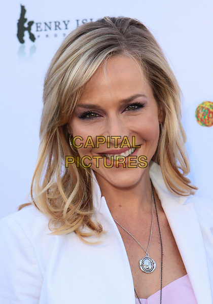 """JULIE BENZ.The Every Monday Matters Foundation presents """"1st Annual Party with a Purpose"""" to launch the Our Schools Matter  held at  Smashbox Studios, West Hollywood, California, USA..May 3rd, 2010.headshot portrait white silver necklace .CAP/ADM/TC.©T. Conrad/AdMedia/Capital Pictures."""