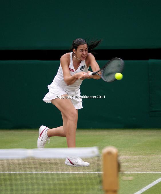 28-06-11, Tennis, England, Wimbledon,   Marion Bartoli