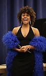 """Ariana DeBose during the press presentation for  """"Summer: The Donna Summer Musical"""" on March 8, 2018 at the New 42nd Street Studios,  in New York City."""