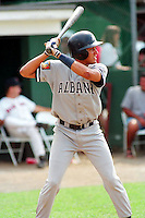 Albany-Colonie Yankees shortstop Derek Jeter during a game versus the New Britain Red Sox at Beehive Field in New Britain, Connecticut in 1994. (Ken Babbitt/Four Seam Images)