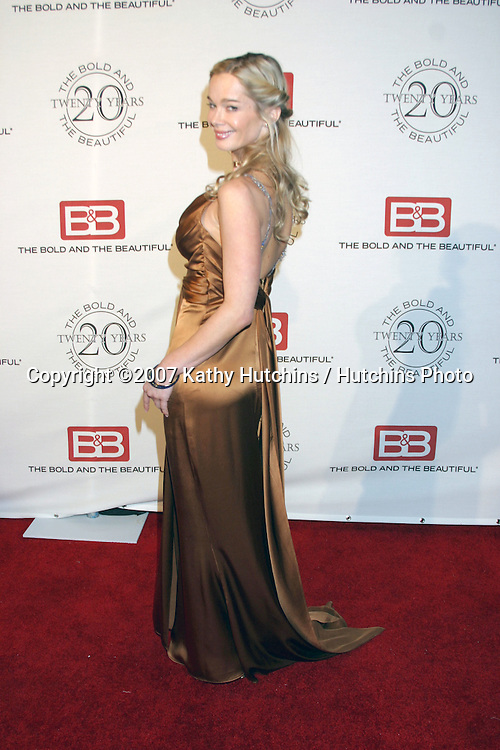 Jennifer Gareis.The Bold & The Beautiful 20th Anniversary Party.Two Rodeo Drive.Beverly Hills, CA.March 25, 2007.©2007 Kathy Hutchins / Hutchins Photo.