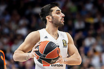 Real Madrid Facundo Campazzo during Turkish Airlines Euroleague match between Real Madrid and CSKA Moscow at Wizink Center in Madrid, Spain. November 29, 2018. (ALTERPHOTOS/Borja B.Hojas)