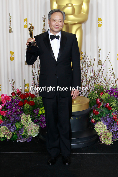 Ang Lee attending the 85th Academy Awards at the Hollywood and Highland Center in Hollywood, California, 24.02.2013...Credit: MediaPunch/face to face..- Germany, Austria, Switzerland, Eastern Europe, Australia, UK, USA, Taiwan, Singapore, China, Malaysia and Thailand rights only -