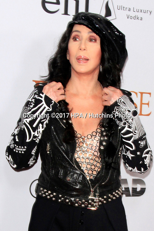 "LOS ANGELES - APR 12:  Cher at the ""The Promise"" Premiere at the TCL Chinese Theater IMAX on April 12, 2017 in Los Angeles, CA"
