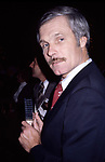 Ted Turner at Radio City Music Hall in New York City. 1980