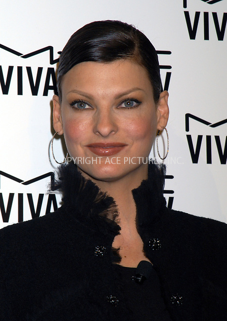 M.A.C. Cosmetics announces Linda Evangelista as spokesperson for the M.A.C. AIDS Fund's new Viva Glam V Campaign. New York, February 11, 2004. Please byline: AJ SOKALNER/ACE Pictures.   ..*PAY-PER-USE*      ....IMPORTANT: Please note that our old trade name, NEW YORK PHOTO PRESS (NYPP), is replaced by new name, ACE PICTURES. New York Photo Press and ACE Pictures are owned by All Celebrity Entertainment, Inc.......All Celebrity Entertainment, Inc:  ..contact: Alecsey Boldeskul (646) 267-6913 ..Philip Vaughan (646) 769-0430..e-mail: info@nyphotopress.com